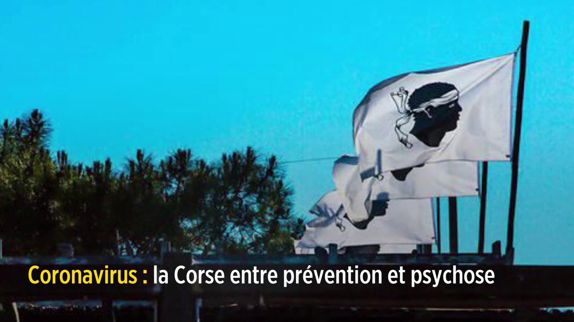 Coronavirus : la Corse entre prévention et psychose