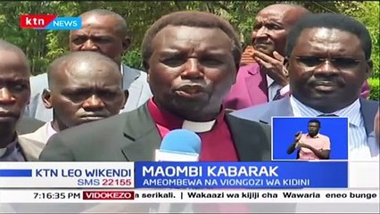 Image result for leaders Pray for Gideon Moi's Rungu at Special Kabarak Event [VIDEO]