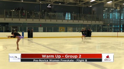 Pre Novice Women FP Flight B 2020 Calgary Winter Combined Invitational - Rockyview County Arena