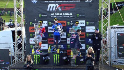 NEWS Highlights - MXGP of Great Britain 2020