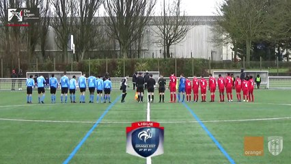 U15 Grand Est Orange, Epernay - AS Nancy/L. 1-2, le résumé