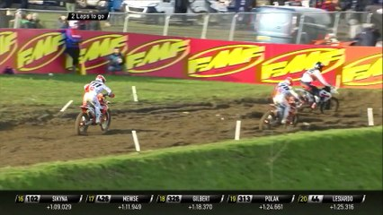 Vialle vs Hofer battle - MXGP of Great Britain Race 2