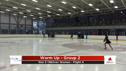 STAR 5 Women (13 Over) Free Program Flights A&B - 2020 Calgary Winter Combined Invitational - Shane Homes Arena