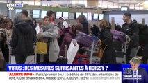 Coronavirus: les mesures de sécurité mises en place à l'aéroport de Roissy sont-elles suffisantes ?