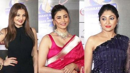 Daisy Shah Attend 19Th Transmedia Gujarati Film And Tv Award