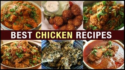 Best Chicken Recipes In Telugu |How To Make Chicken Fry | Chicken Curry Recipe In Telugu