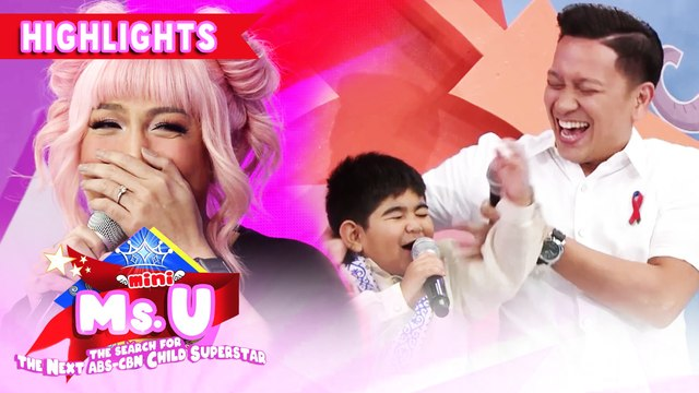 Yorme has a pick-up line for Vice and Jhong | It's Showtime Mini Miss U