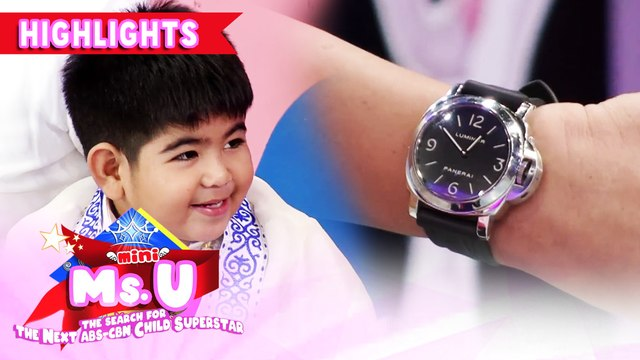 Yorme reveals the price of their Mayor's watch | It's Showtime Mini Miss U