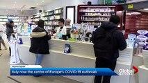 Coronavirus_ Italy becomes centre of European outbreak as Trump downplays virus