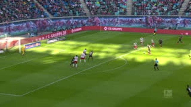 24e j. - Leipzig freiné par Leverkusen