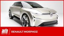 Renault Morphoz : le concept-car électrique évolutif