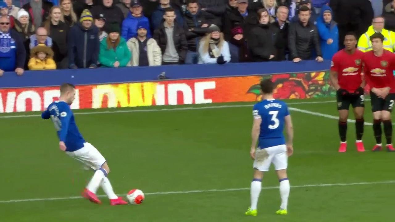 Everton  - Manchester United (1-1) - Maç Özeti - Premier League 2019/20