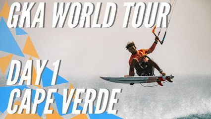 GKA Kite-Surf World Cup | Cape Verde 2020 | Registration and warm-up session