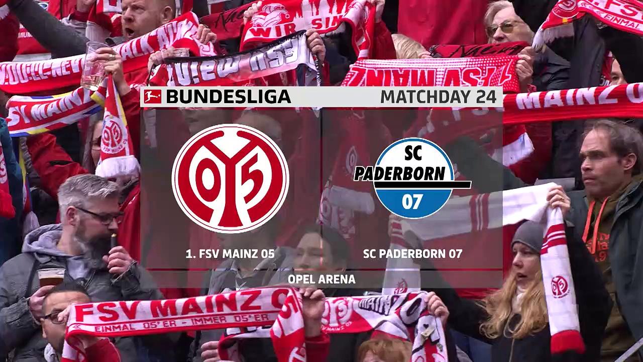 Mainz 05 - Paderborn (2-0) - Maç Özeti - Bundesliga 2019/20
