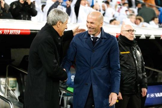 Onze Demande - Real Madrid : Zidane a sauvé sa tête grâce à la victoire dans le Clasico ?