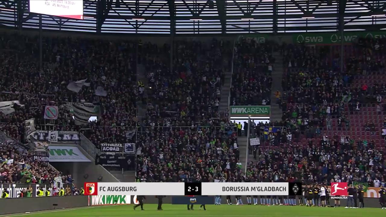 Augsburg - Borussia Mönchengladbach (2-3) - Maç Özeti - Bundesliga 2019/20