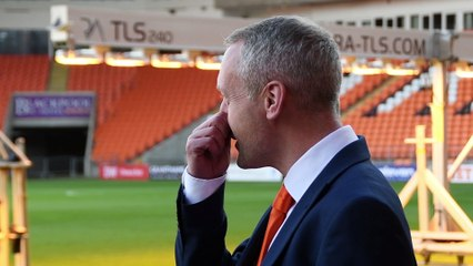 Blackpool unveil new boss Neil Critchley