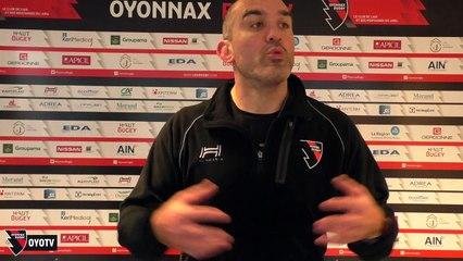 Point presse avant Oyonnax / Grenoble - 23ème journée Pro D2