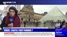 """Louvre fermé: """"On se rend compte d'une impréparation majeure"""" en cas d'épidémie du coronavirus, explique le syndicat SUD Culture"""