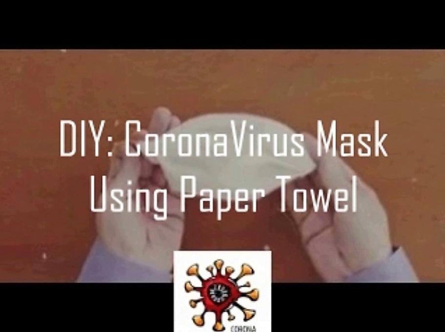 diy coronavirus mask