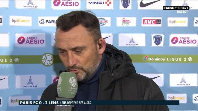 Paris FC / Lens : La réaction de Franck Haise après son premier match avec Lens