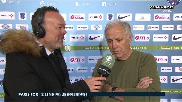 Paris FC / Lens : René Girard réagit à la défaite parisienne