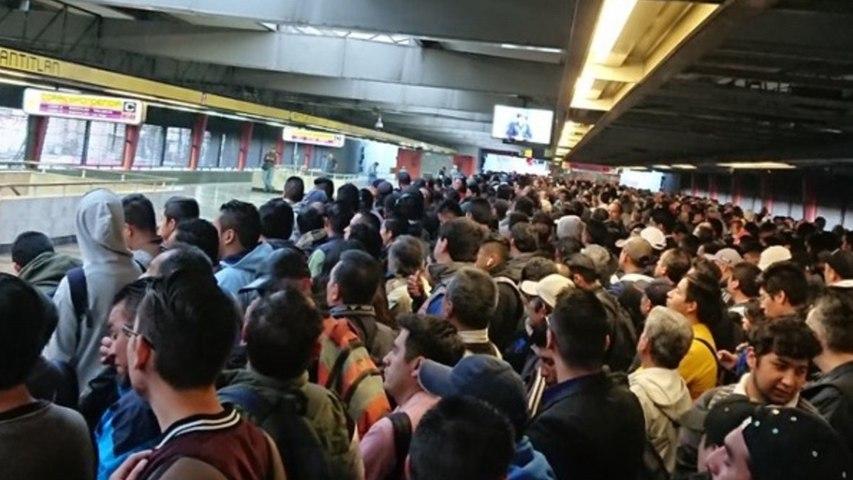 Suspenden servicio en 3 estaciones de la Línea 5 del Metro por fuga de gasolina