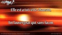 Georges Brassens - Chanson Pour L'Auvergnat Karaoke Version Instrumental