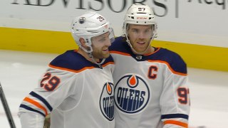Leon Draisaitl dazzles with four-goal game in win