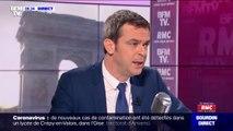"""Coronavirus: Olivier Véran annonce """"qu'une centaine de patients restent hospitalisés"""" dont """"une dizaine en réanimation"""""""