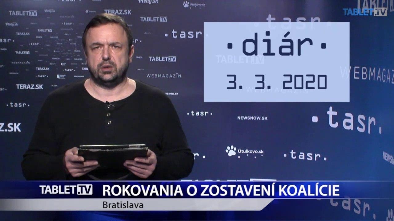 DIÁR: Pokračujú rokovania o zostavení koalície