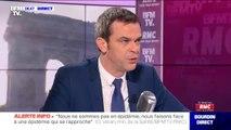 """Coronavirus: Olivier Véran annonce qu'il va déstocker """"entre 15 et 20 millions"""" de masques supplémentaires"""