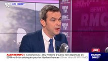 """Olivier Véran sur le coronavirus: """"Toutes les décisions que je prends sont des décisions fondées sur le rationnel scientifique"""""""