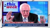 Joe Biden: I'll Contest Convention If Bernie's Leading