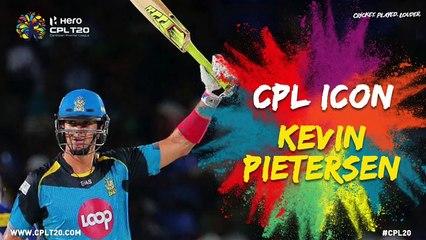 KEVIN PIETERSEN | CPL ICON | #CPLIcon #CPL20 #CricketPlayedLouder