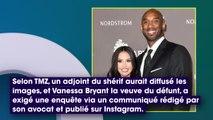 Mort de Kobe Bryant : Vanessa Bryant exige une enquête après la fuite de photos du site du crash