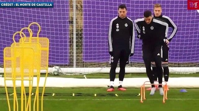 Les images d'Hatem Ben Arfa à l'entraînement avec Valladolid