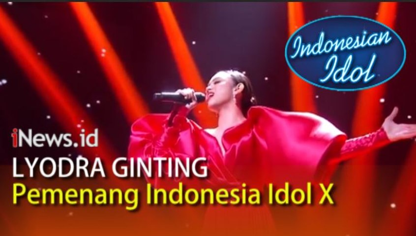 Video Kemenangan Lyodra Ginting di Indonesian Idol X, Tiara Anugrah Runner-Up