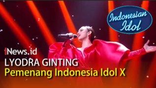 Video Kemenangan Lyodra Ginting di Indonesian Idol X Tiara Anugrah Runner Up