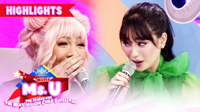 Arci shares a trivia about popcorn | It's Showtime Mini Miss U