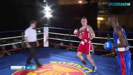 Gala de boxe de Cabourg : Pierre Gaudry vs Igor Gahbe