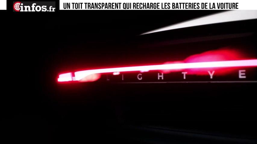 Un toit transparent qui recharge les batteries de la voiture   Infos.fr