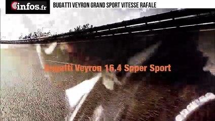 Bugatti Veyron Grand Sport Vitesse Rafale | Infos.fr