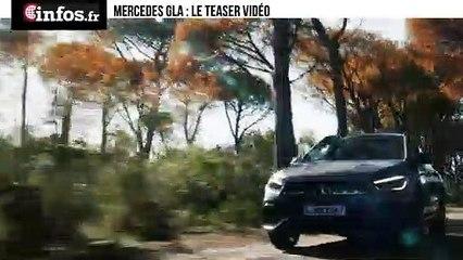 Mercedes GLA : le teaser vidéo | Infos.fr