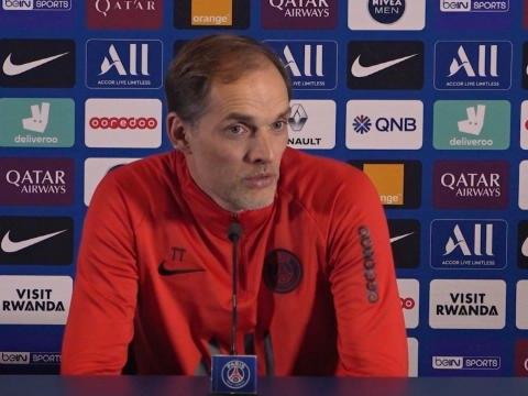 """Coupe de France - Tuchel : """"Mbappé pré-sélectionné pour les JO ? Une surprise pour moi"""""""