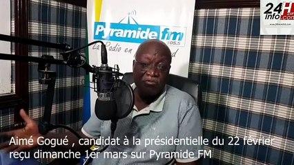"""Aimé Gogué : """"nous disons que Faure n'est pas élu »"""