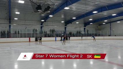 STAR 7 Flt 2 Novice Junior Senior Women Short