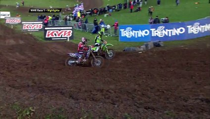 WMX Race 1 Highlights MXGP of Great Britain 2020