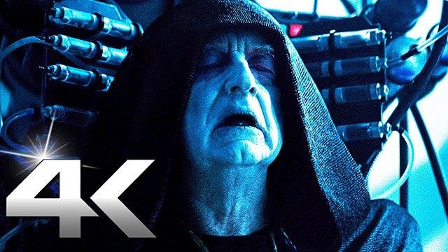 Star Wars 9 Palpatine Vs Kylo Ren Rey Fight Scene Video Dailymotion