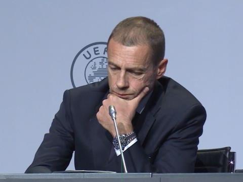 """UEFA : - Ceferin : """"Le racisme est un problème de société, les gouvernements devraient nous aider"""""""
